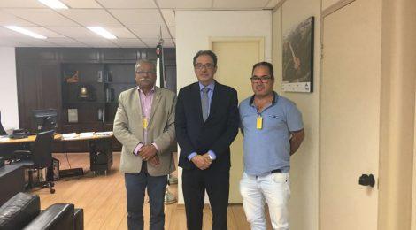 Reunião do SINDMESTRES com o Secretário de Transportes e Logística do Estado de São Paulo