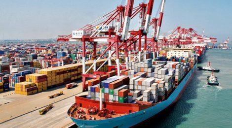 Instalações portuárias moveram 249,2 milhões de toneladas no primeiro trimestre, diz ANTAQ
