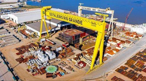 Credores aprovam plano de recuperação da Ecovix, dona do Estaleiro Rio Grande