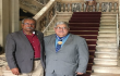 SINDMESTRES prestigia homenagem da Alerj ao Comodoro Gondar