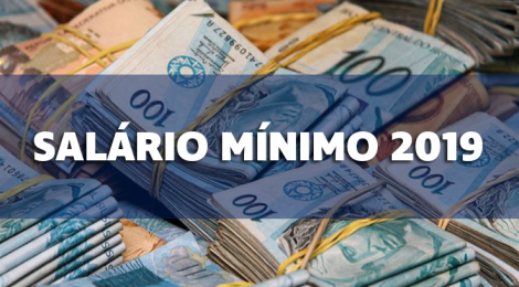 Salário mínimo de R$ 998 para 2019 não deve repor perda deste ano