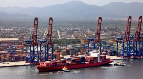 Marinha autoriza ampliação da profundidade do canal de navegação do Porto de Santos, SP