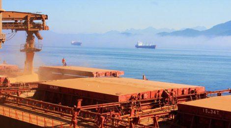 Investimento vai triplicar embarque de grãos no Porto de Paranaguá