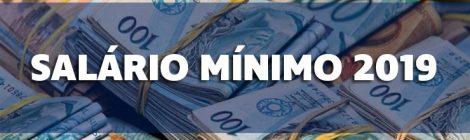 Novo mínimo não chega a R$ 1 mil em 2019
