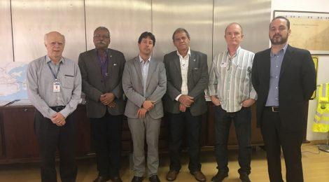 Secretário de Transportes do Estado do Rio de Janeiro recebe sindicalistas