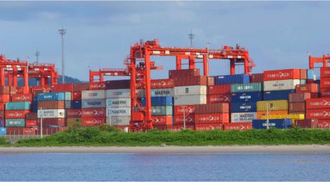 Porto Itapoá inaugura primeira fase das obras de expansão