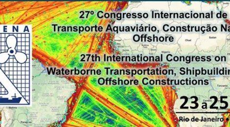 Sobena: 27º Congresso Internacional de Transporte Aquaviário, Construção Naval e Offshore acontece em outubro