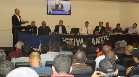 Câmara de Santos pede mudanças no Porto para candidatos à presidência