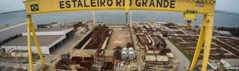 Estaleiro Rio Grande é sondado sobre P-71 e movimentação de cargas