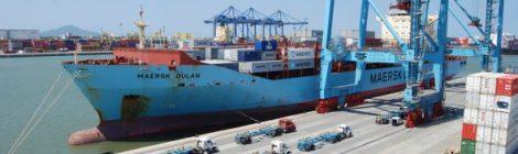 Porto de Itajaí aumenta em 86% sua movimentação de cargas.