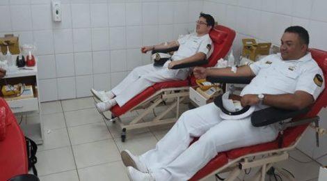 Capitania dos Portos comemora 171 anos com doação de sangue