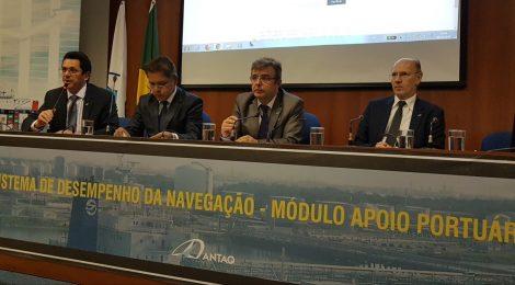 Setor regulado conhece o Sistema de Desempenho da Navegação no módulo Apoio Portuário