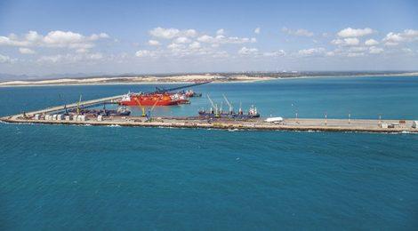 Movimentação de cargas no Porto do Pecém cresce 13% em 2018