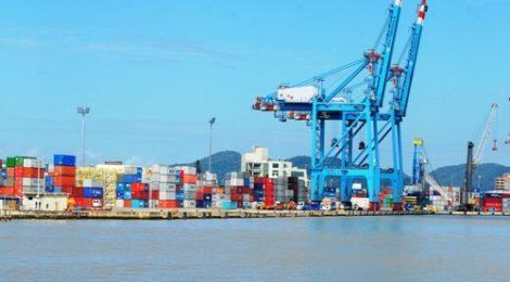 Setembro segue estável na movimentação do Porto de Itajaí