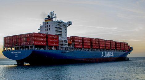Aliança Navegação lança serviço e espera crescer na cabotagem