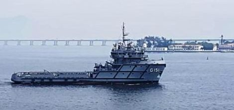 Belém-PA recebe novo navio da Marinha do Brasil