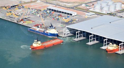 Porto do Açu, em São João da Barra, se apresenta como alternativa logística para empresários mineiros