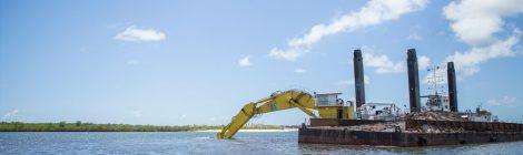 Porto de Suape retoma dragagem do canal de acesso ao estaleiro Vard Promar