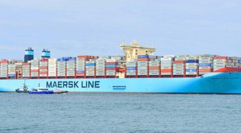 Maersk investirá US$ 2 bi para tornar navios menos poluentes