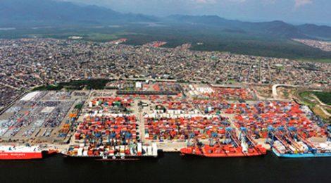 Movimento de cargas no Porto de Santos em 2018 mantém recorde e já ultrapassa 110 milhões de toneladas