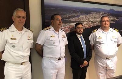 Parceria entre a Marinha e Portos do Paraná vai ampliar segurança na navegação