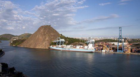 Movimentação de cargas no Porto de Vitória