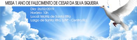 MISSA 26/02/2019