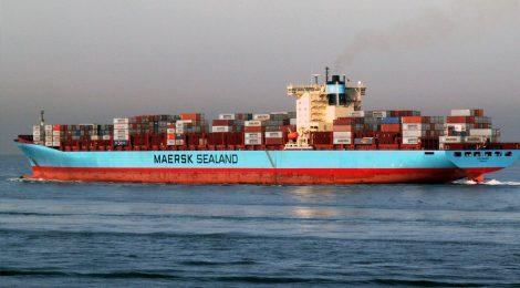 Maersk participa de projeto-piloto com biocombustível no transporte marítimo