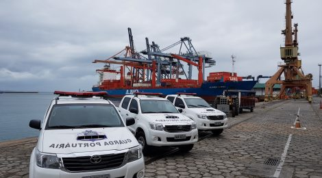 Convênio dá poder de fiscalização à Guarda Portuária