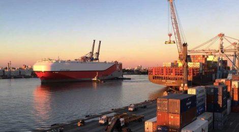 Porto de Itajaí registrou em abril 29% de aumento na movimentação total de cargas.