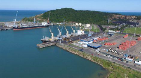 Movimento de cargas no Porto de Imbituba cresce 9,6% no primeiro semestre