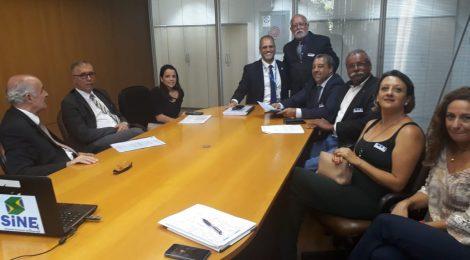 SINDMESTRES participa de Reunião com Secretário de Trabalho do Governo do Estado do Rio de Janeiro
