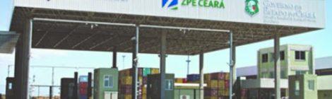 Empresas instaladas na ZPE do Ceará estão dispensadas de cumprir com percentual mínimo de exportações em 2020