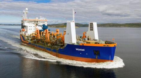 Complexo portuário de Itajaí e Navegantes recebe nova draga