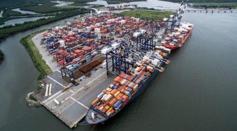 Porto de Santos mantém liderança em ranking com 25 milhões de toneladas no 1º trimestre