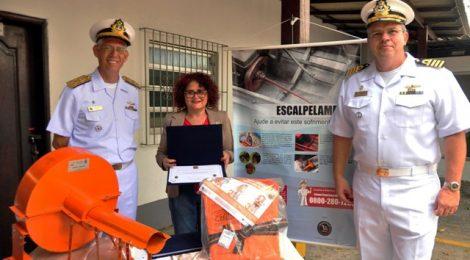 Capitania dos Portos realiza mutirão de conscientização sobre os acidentes de escalpelamento