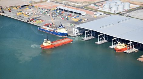 Obras no Porto do Açu vão gerar três mil vagas nos próximos anos