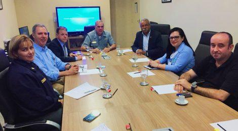 SINDMESTRES apresenta projeto de qualificação ao atual Diretor de Portos e Costas