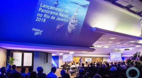 Panorama Naval 2018 da Firjan apresenta as perspectivas do mercado até 2030