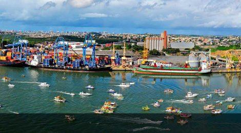 Nova profundidade e calados do Porto de Vitória