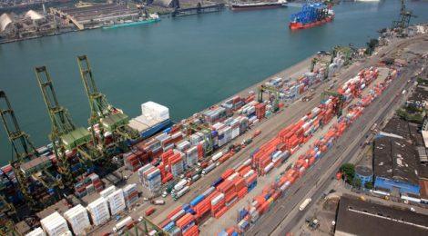 Grupo Libra anuncia encerramento das operações no Porto de Santos, SP