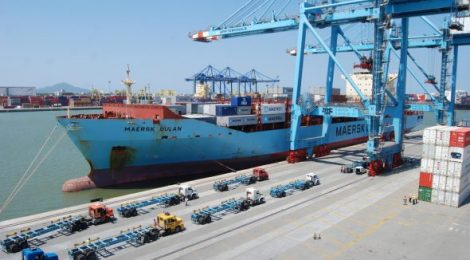 Fevereiro registra 9% de aumento na movimentação total de cargas no Complexo Portuário de Itajaí.