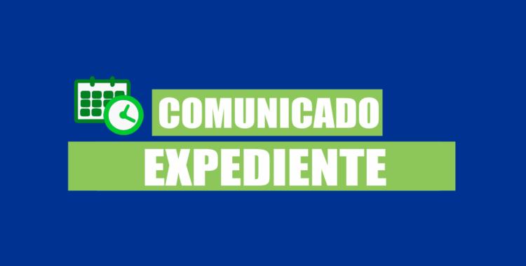Comunicado Expediente